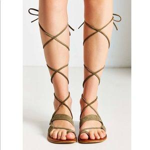 NEW Jeffrey Campbell Vista gladiator sandals